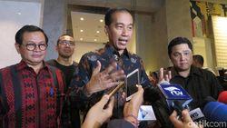 Presiden Jokowi Hadiri Pameran dan Lelang Lukisan Lintas Generasi