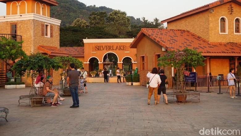 Foto: Perkebunan anggur Silverlake di Pattaya (Shinta/detikTravel)