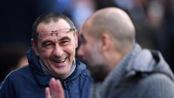 Sarri: Guardiola Beruntung