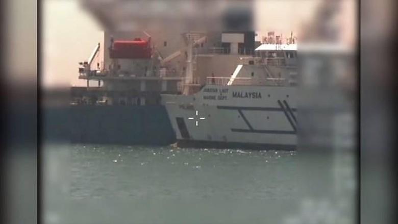 Malaysia-Singapura Bersitegang Usai Tabrakan Kapal di Perairan Sengketa