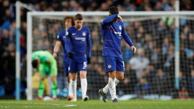 Chelsea menelan kekalahan tandang kelima di Liga Primer Inggris musim ini.