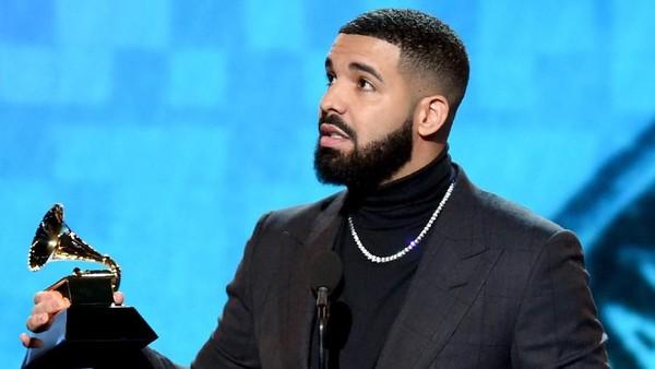 Kritisi Penilaian Grammy, Pidato Kemenangan Drake Dipotong