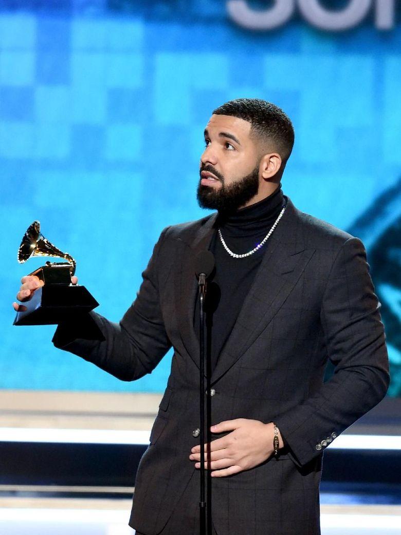 Sebut Grammy Tak Dukung Hip-hop, Drake Diganjar Piala