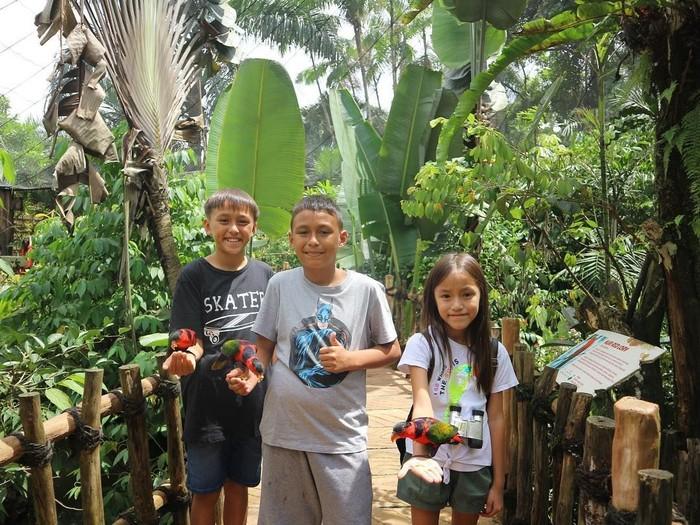 Darius Sinathrya dan Donna Agnesia dikarunia 3 anak berbakat, Lionel, Diego, dan Sabrina. Ketiganya punya akun Instagram khusus yang membagikan momen-momen seru mereka. Foto: Instagram liodiegosabrina