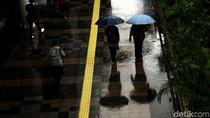 BMKG Prediksi Jaksel-Jaktim Diguyur Hujan Siang ini