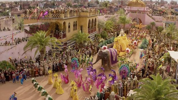 Penampakan Will Smith Biru dalam 'Aladdin'