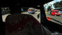 Metromini dan Kopaja di Terminal Blok M Semakin Punah
