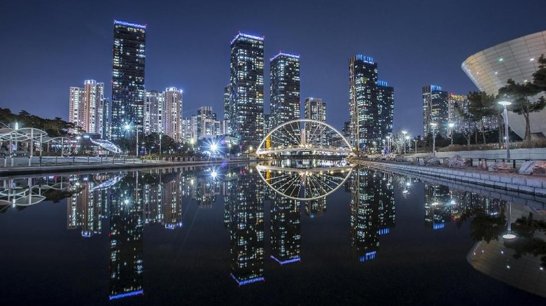 Foto: Pemandangan Songdo Central Park di Incheon (dok KTO)