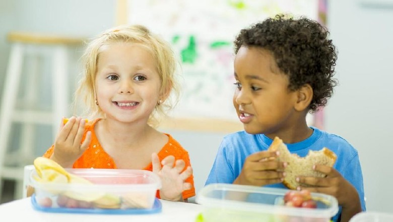 Camilan sehat untuk anak/ Foto: iStock