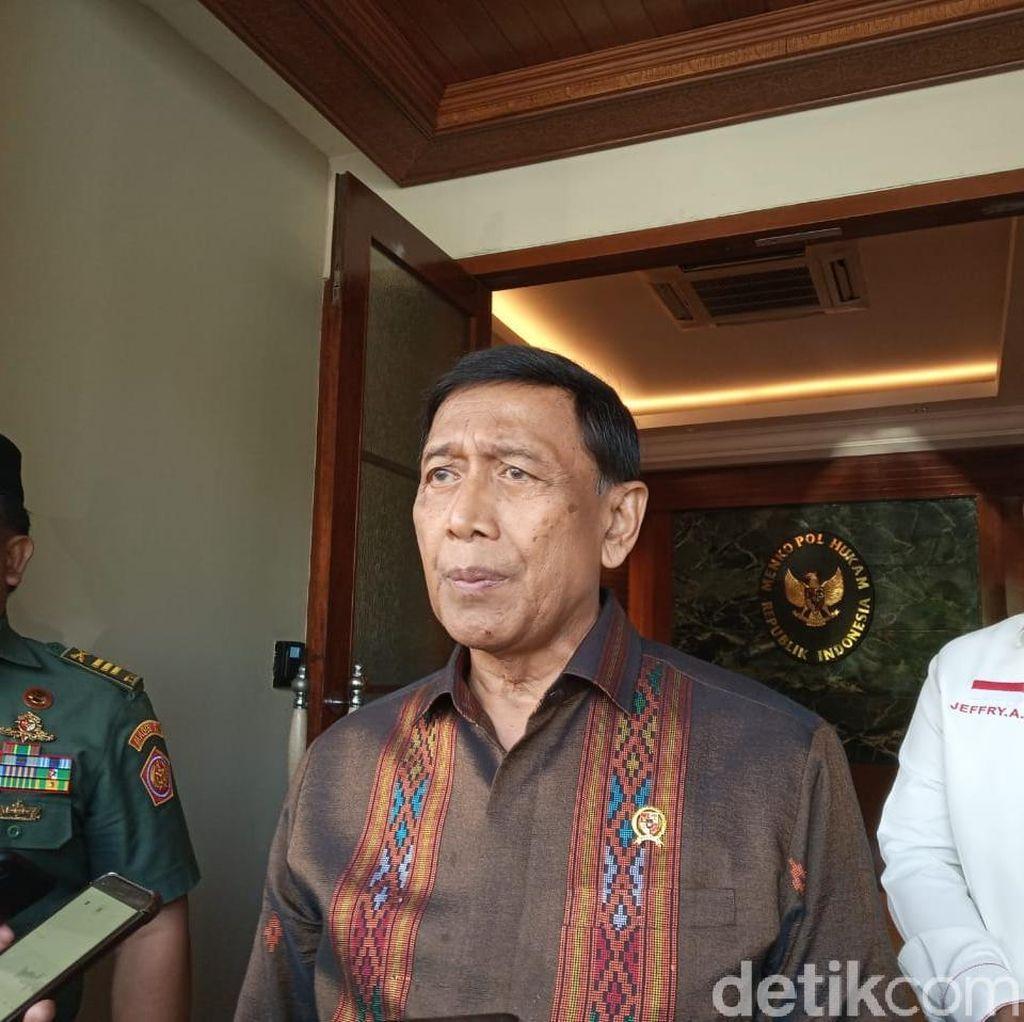 Wiranto soal Ledakan Petasan di Parkit Senayan: Jangan Berspekulasi