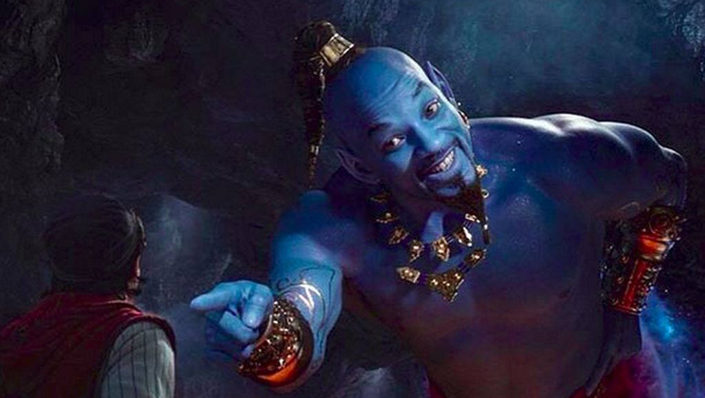 Penampilan Will Smith Serba Biru di Film Aladdin