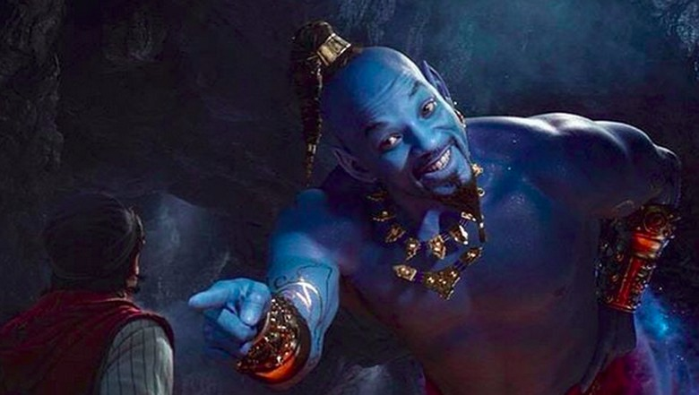 Penampilan Will Smith Serba Biru di Film Aladdin