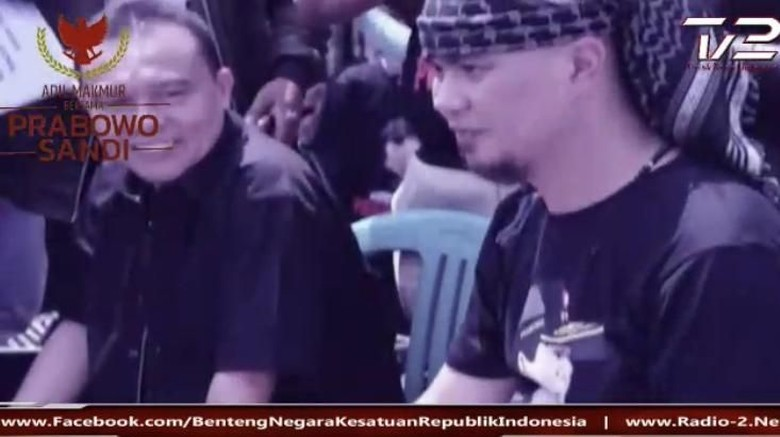Dukung Ahmad Dhani, Waketum Gerindra Cover Lagu Hadapi dengan Senyuman