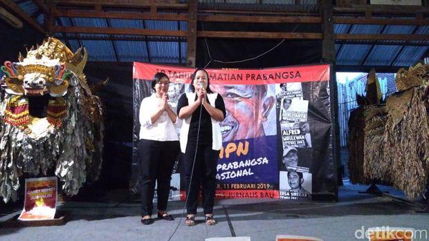 Keluarga AA Gde Bagus Narendra Prabangsa mengucap syukur atas pencabutan remisi I Nyoman Susrama