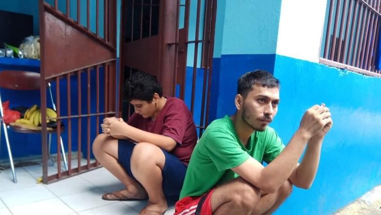 2 Pengungsi Bakar Diri di Rumah Dinas Detensi Manado