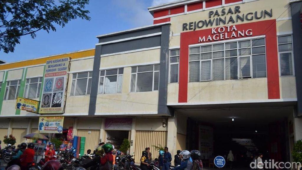 Pasar Rejowinangun Magelang Jadi Pasar Berstandar Nasional ke-30