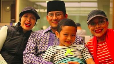 Sandiaga Uno, Si Anak Mami Kebanggaan Keluarga