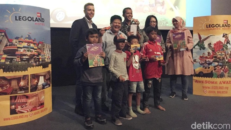 Suasana acara Nobar The LEGO Movie 2: The Second Part di Jakarta (Kurnia/detikTravel)