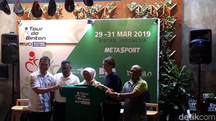 Konferensi pers Tour de Bintan 2019. (Mercy Raya/detikSport)