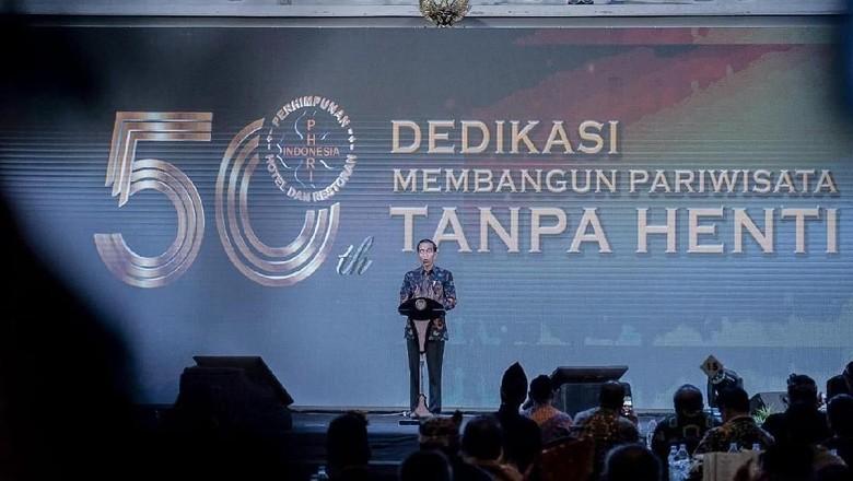Gala Dinner Peringatan HUT ke-50 Perhimpunan Hotel dan Restoran Indonesia (PHRI) (Dok. Kemenpar)