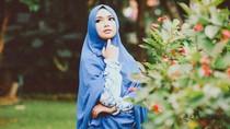 Begini Pesan Driver Ojol untuk Pelanggan yang Pakai Hijab Syari