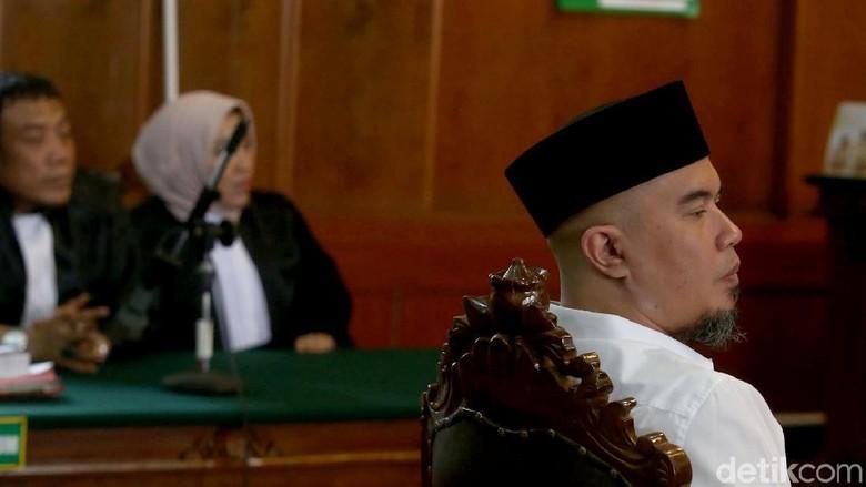 Tolak Korting Hukuman, Ahmad Dhani Ngotot Cari Kebebasan