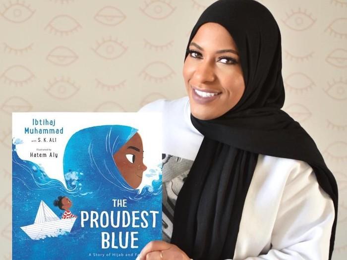 Ibtihaj Muhammad rilis buku hijab untuk anak. Foto: Instagram/Ibtihaj Muhammad