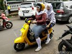 Kontroversi Si Motor Listrik Kuning, Belum Berizin tapi Sudah Keliling