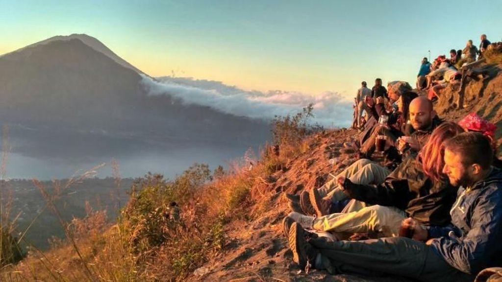 Gunung Batur yang Ramah Bagi Pendaki Pemula