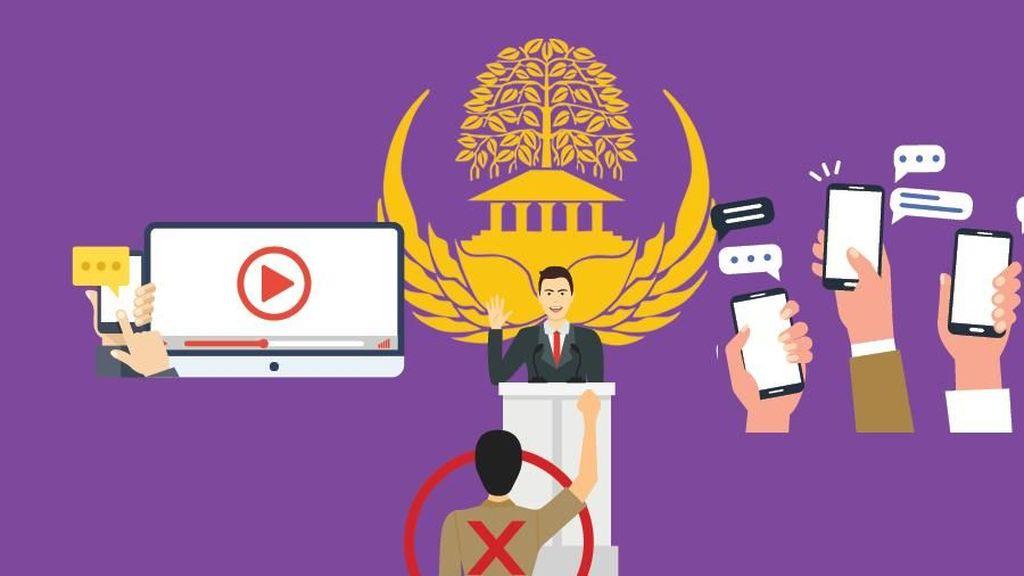 Ada 990 Kasus Pelanggaran Netralitas PNS, Mayoritas Nyinyir di Medsos