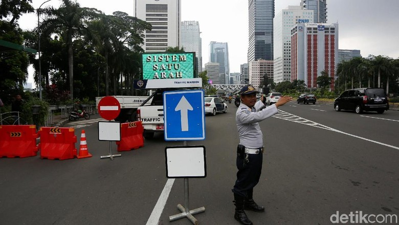 Siap-siap, Sistem Satu Arah Mulai Berlaku di Jakarta