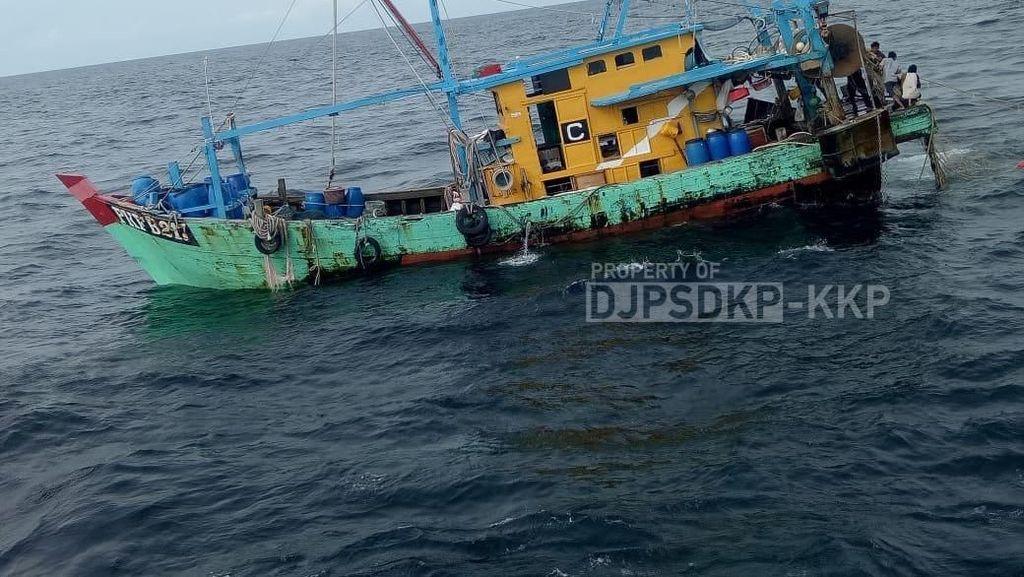 Lagi, KKP Tangkap Kapal Maling Ikan Berbendera Malaysia