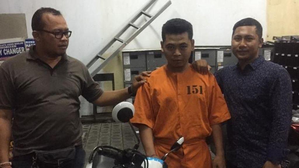 Gadaikan Motor Rental untuk Judi, Pria di Denpasar Ditangkap