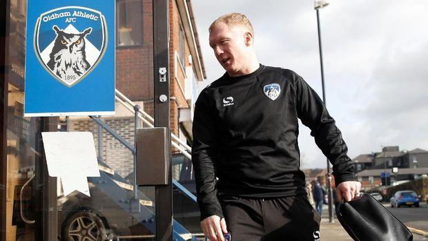 Paul Scholes tercatat sebagai salah satu pemilik klub Salford City. (