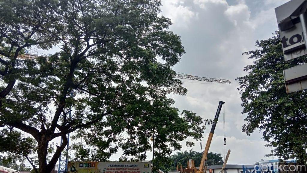 Pembangunan Rusun Nempel Stasiun Tanjung Barat Dikebut