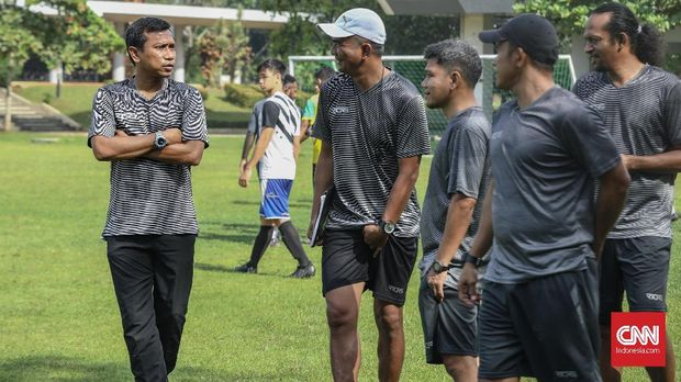 Widodo Cahyono Putro saat ini melatih Persita Tangerang.