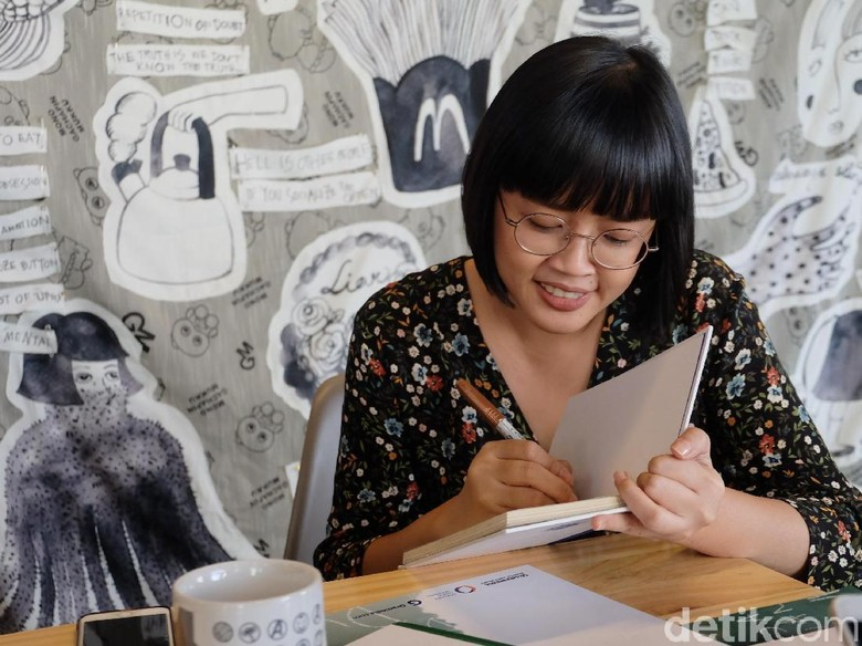 Fragmen Cerita Sederhana Jadi Kekuatan di Buku Lala Bohang Foto: Tia Agnes/ detikHOT