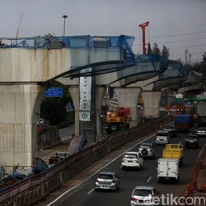 Tol Japek Layang Batal Dipakai Mudik, Contraflow Jadi Opsi