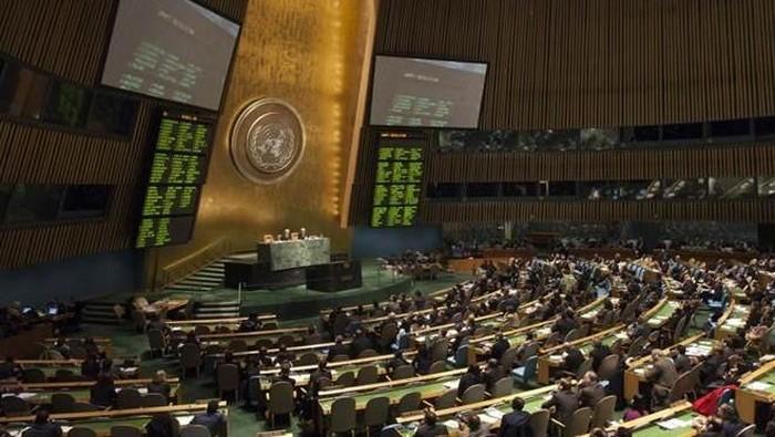 Ruang sidang PBB (Reuters)