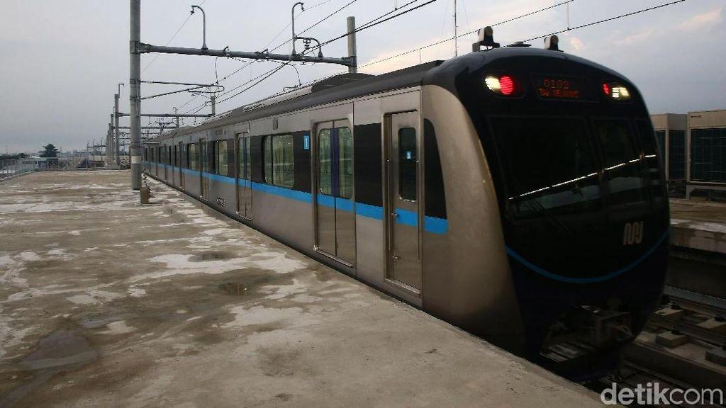 Pembangunan MRT Ujung Menteng-Kalideres Telan Rp 50 Triliun