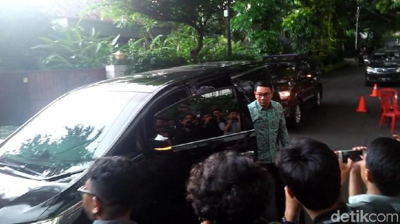 Ridwan Kamil Sambangi Kediaman Maruf Amin, Bahas Apa?