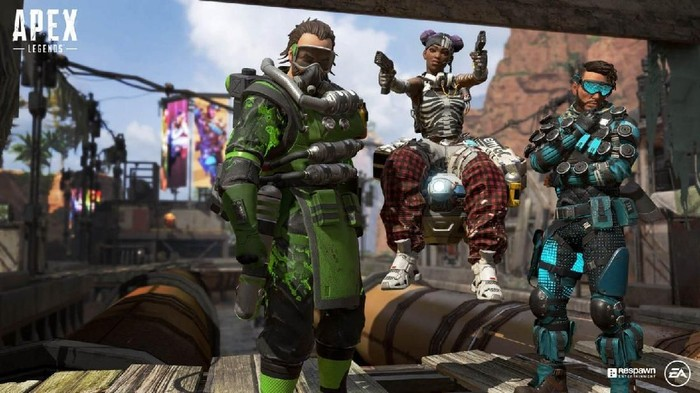 Apex Legends, game baru penantang PUBG dan Fortnite. Foto: Electronic Arts