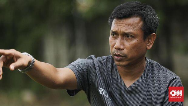 Widodo C Putro kini menangani Persita Tangerang.