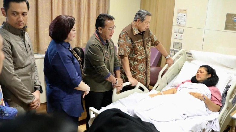Andi Arief: Pak Jokowi Kirim Dokter Tangani Penyembuhan Ani Yudhoyono