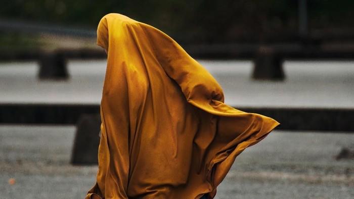 Ilustrasi hijab syari
