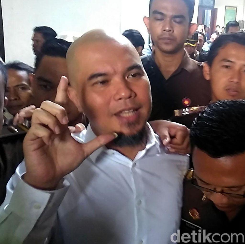 Zulkifli Jamin Penangguhan Ahmad Dhani, TKN: Hormati Putusan Pengadilan