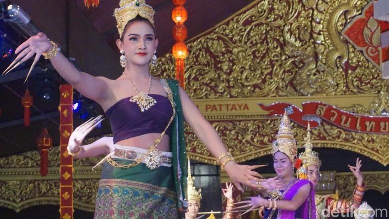 Pertunjukan Lady Boy di Suanthai, Thailand (Shinta Angriyana/detikTravel)