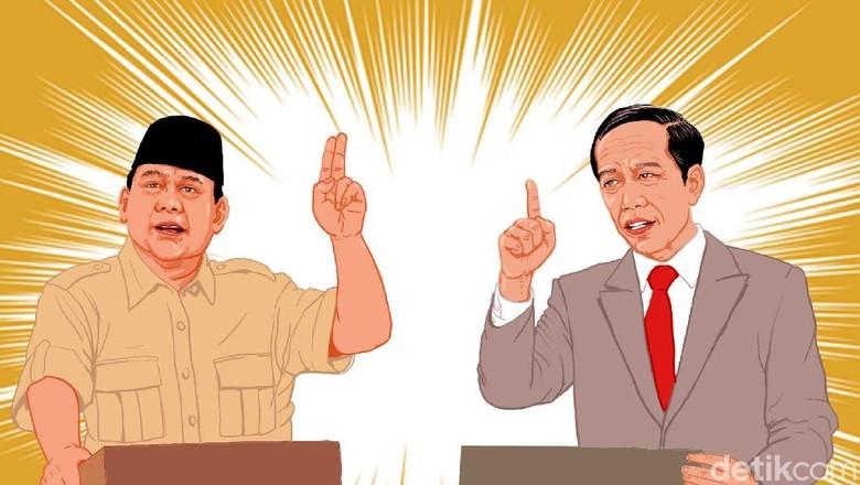 Jokowi Pakai Data Menteri, Prabowo Libatkan Pakar di Debat Kedua