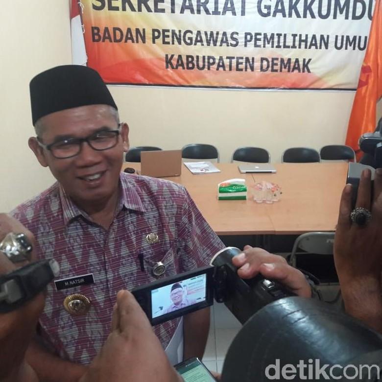 Bupati Demak Diperiksa Bawaslu Terkait Deklarasi Dukung Jokowi