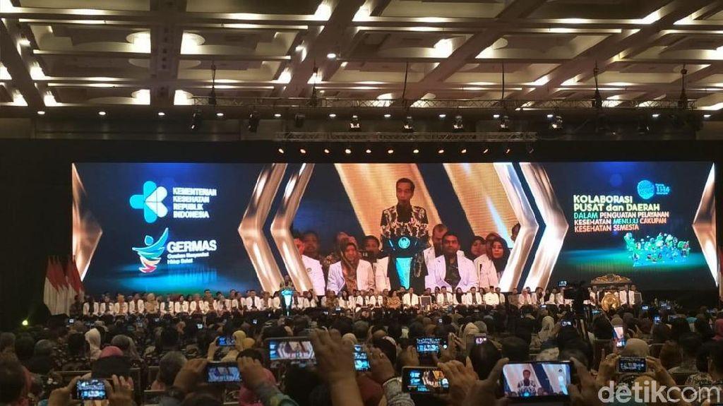Jokowi Sebut Suntikan Duit BPJS Kesehatan Cair Maret dan April